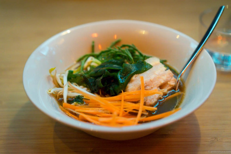 Ramen for lunch at Hitchhiker