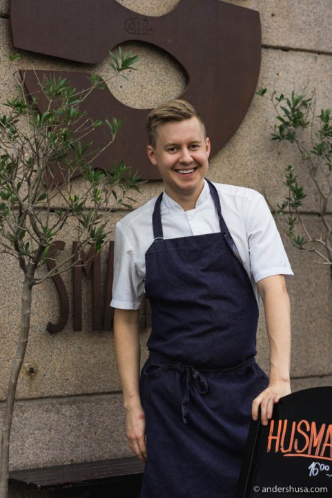 Head chef at Smalhans, Karl Torbjørn Andersen
