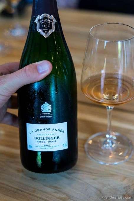 """2004 """"La Grande Cuvée Rosé"""", Bollinger"""