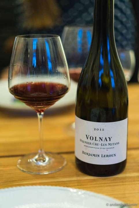 "2015 Volnay 1er Cru ""Mitans"", Benjamin Leroux"