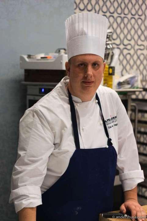 Norwegian chef Odd Ivar Haglund (27)