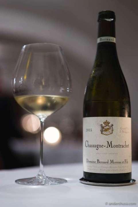 2015 Chassagne Montrachet, Domaine Bernard Moreau et Fils, Bourgogne, France