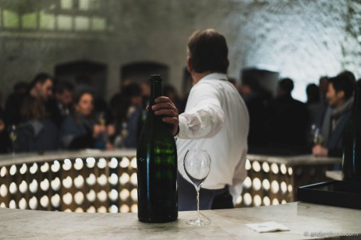 Please, Sir, may I have another glass of that fine 1989 Brut? No?