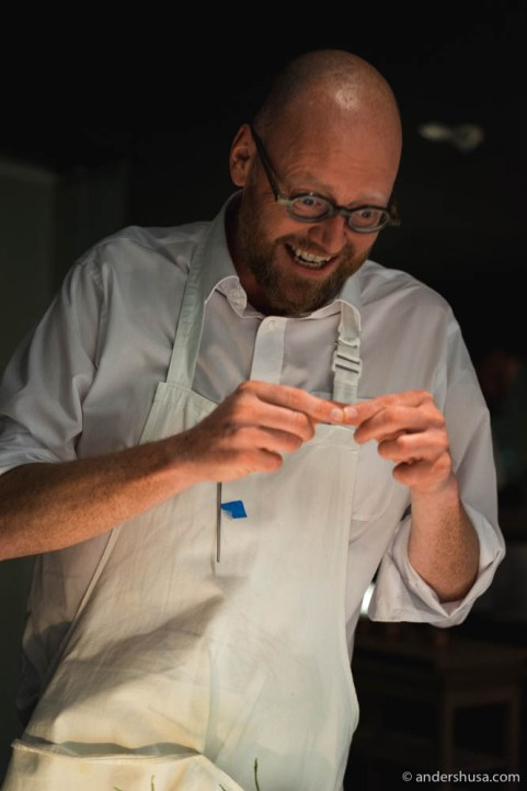 Chef Paul Cunningham of Henne Kirkeby Kro