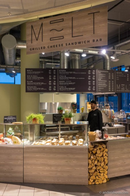 Melt's 2nd location in Sirkus Shopping mall
