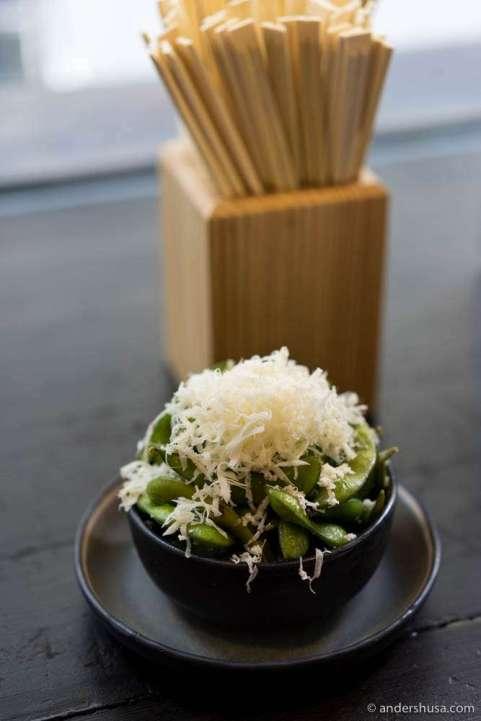 Edamame & horseradish
