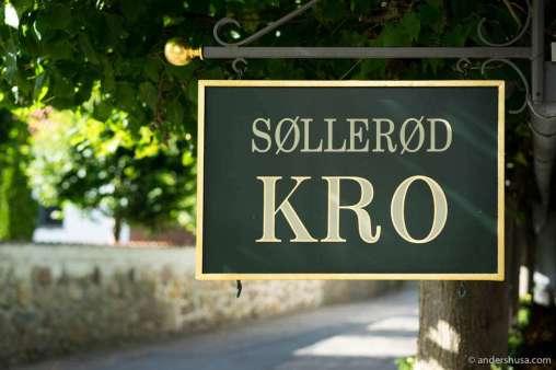 Welcome to Søllerød Kro