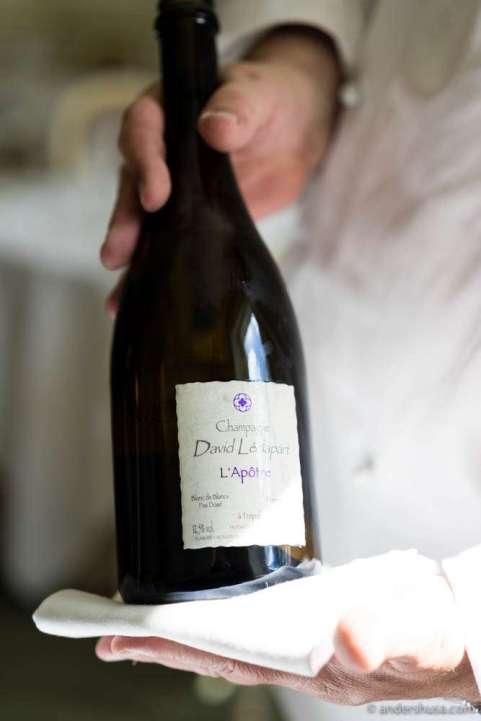 Champagne David Léclapart L'Apotre