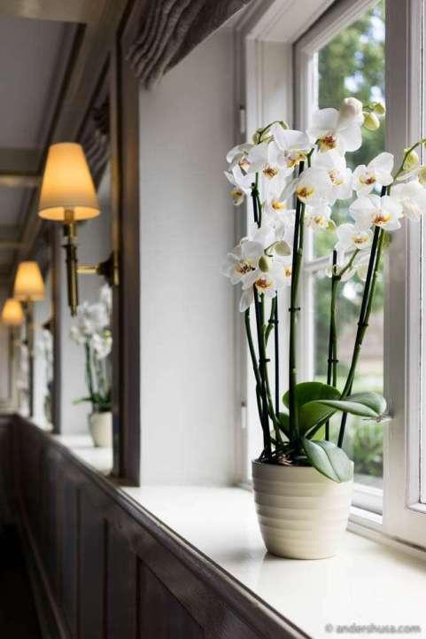 Decoration details at Søllerød Kro