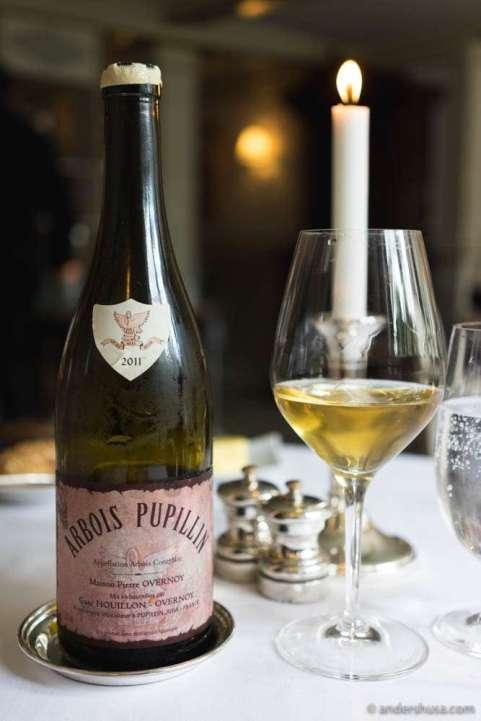 2011 Emmanuel Houillon – Maison Pierre Overnoy, Arbois Pupillin, Chardonnay