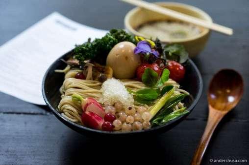 Noodle lunch at Slurp Ramen