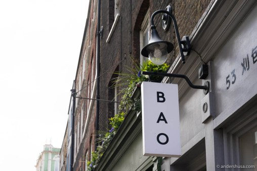 Bao in Soho