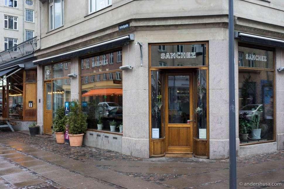 Restaurant Sanchez on Istedgade 60