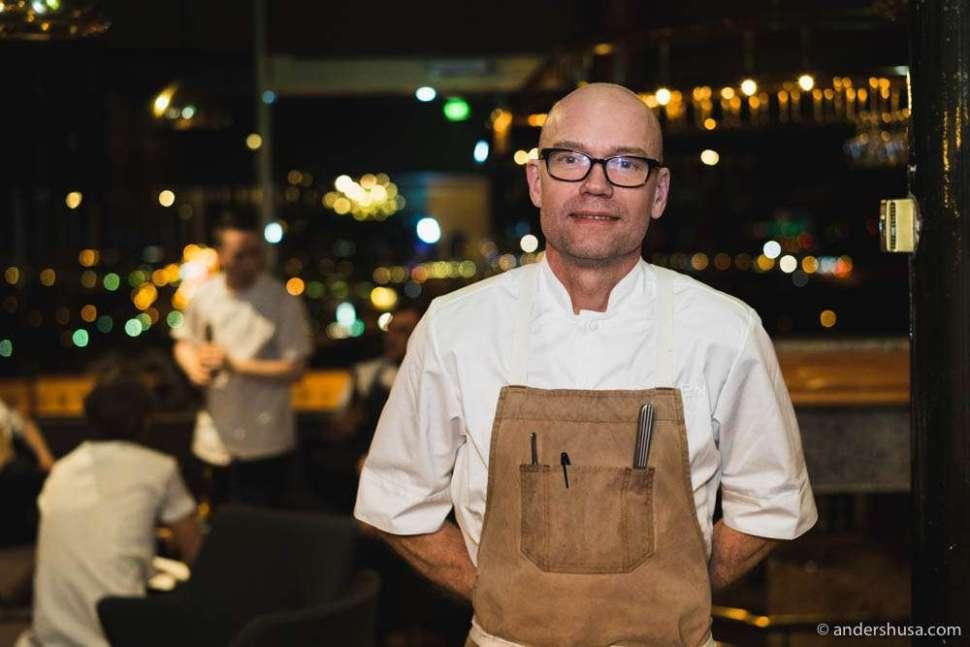 Chef Magnus Ek from Oaxen Krog & Slip in Stockholm