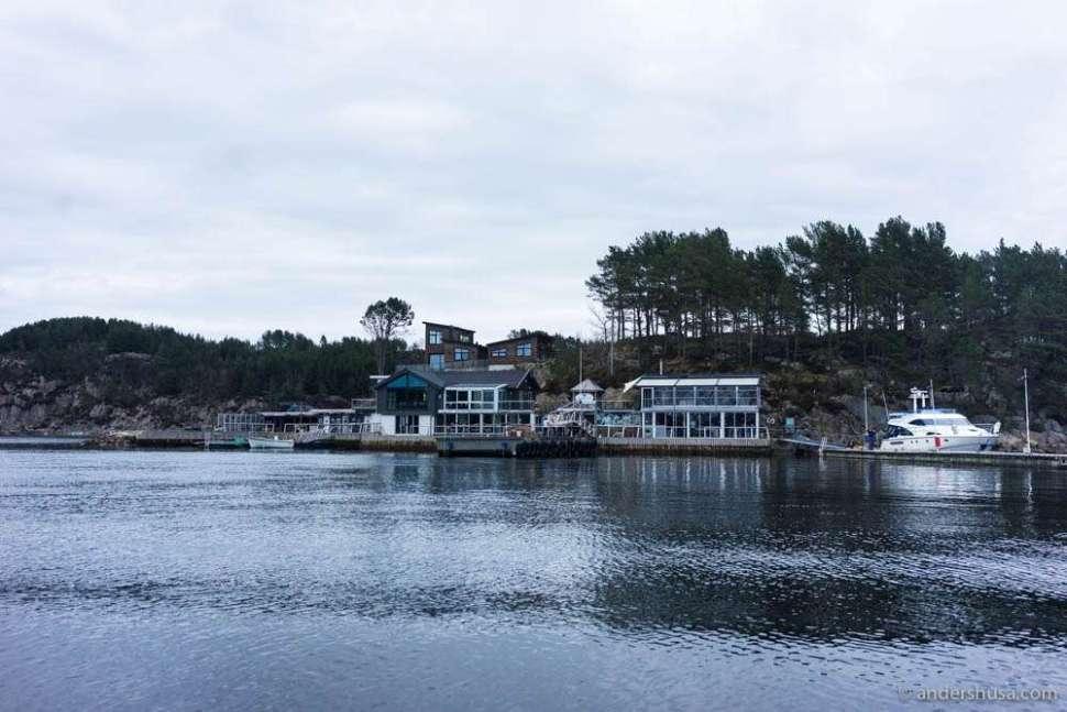 Cornelius seafood restaurant at Holmen