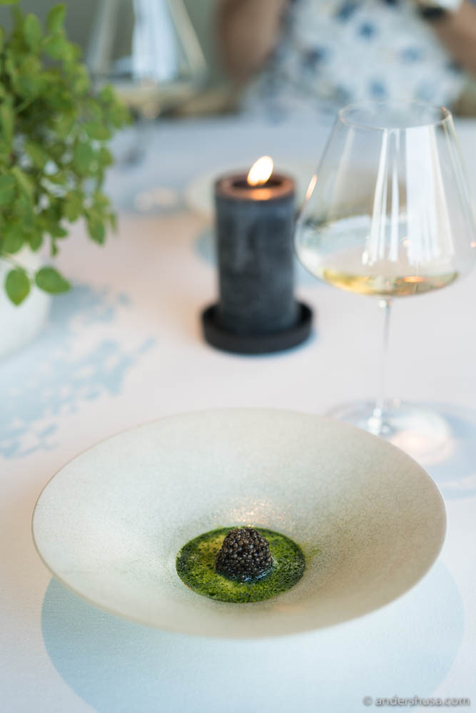 A Maaemo signature dish – now with caviar.