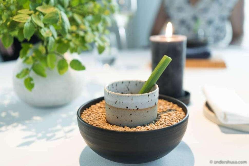 Kombucha tea made with Norwegian grains.