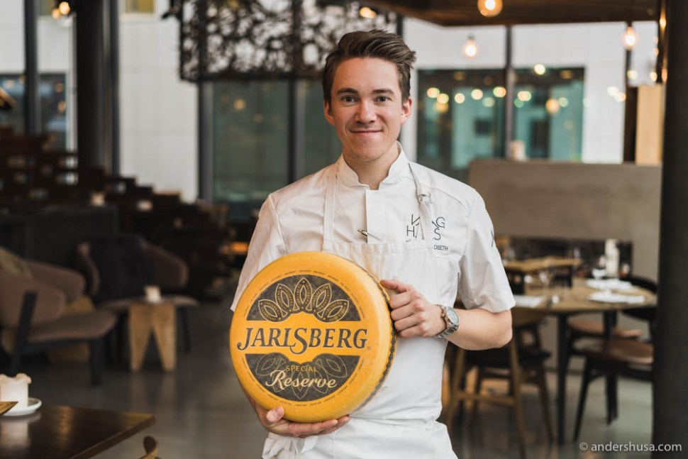 Head chef at restaurant Vaaghals in Oslo – Christer Rødseth