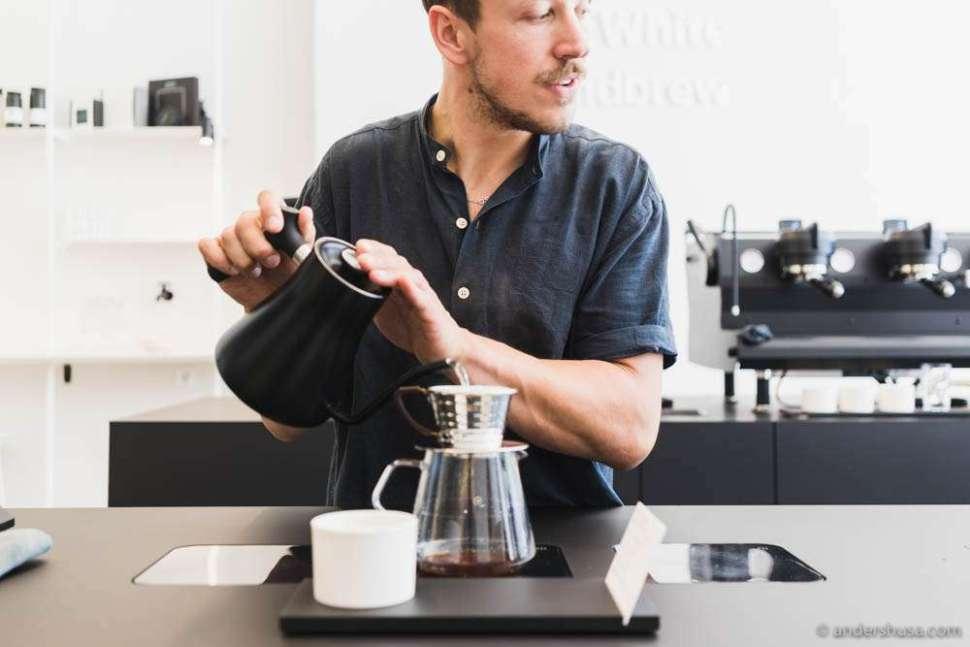 "Linus: ""How do you like your coffee?"" Me: ""Fruity."" Linus: ""You know, coffee is a fruit."""