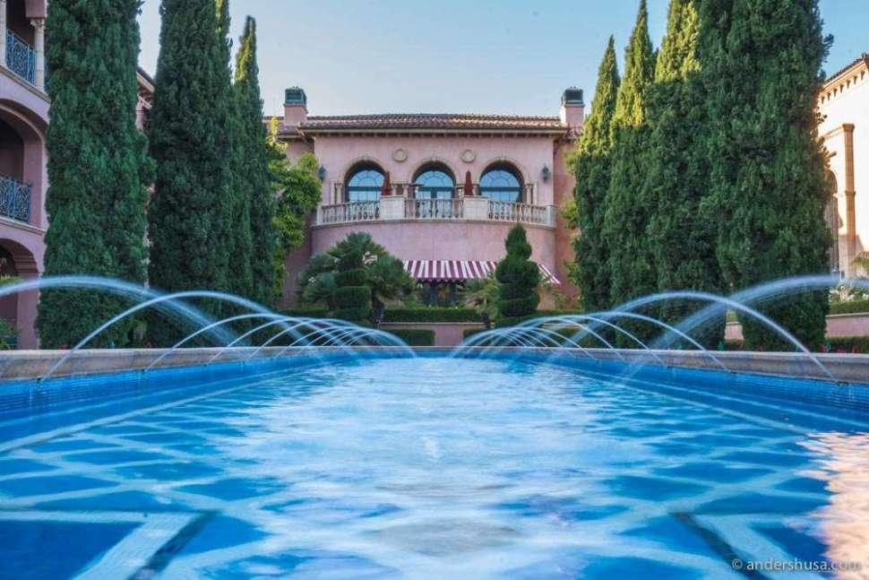 Tuscan villa-style design at the Fairmont Grand Del Mar.