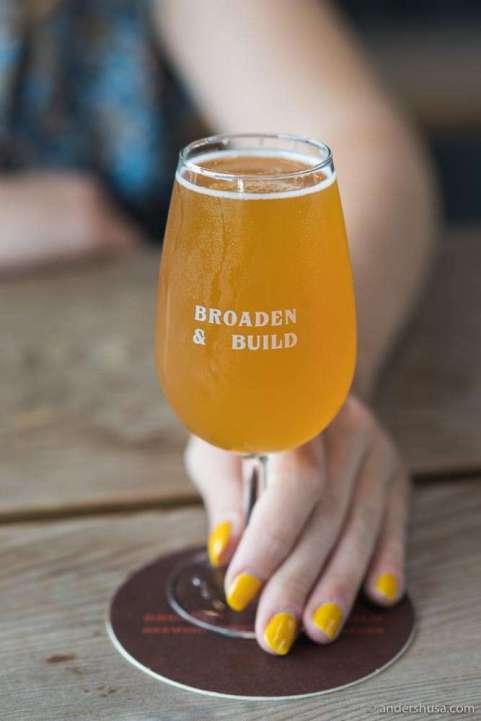 Sea Buckthorn Sour Beer at Broaden & Build