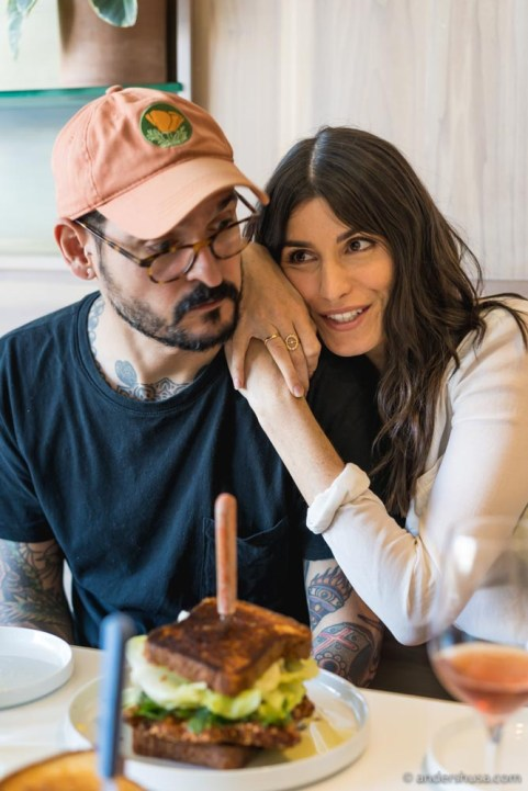Chef Aitor Zabala and his lovely girlfriend Brooke joined us for lunch.