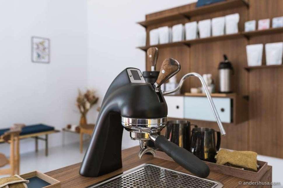 A Modbar espresso machine from La Marzocco.