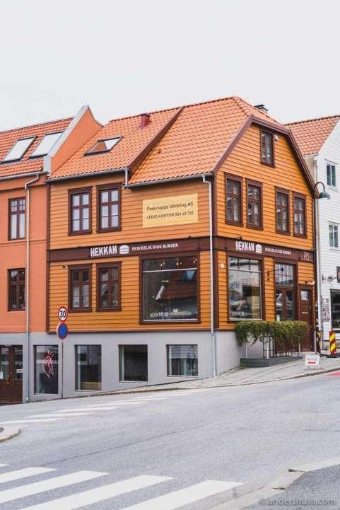 Hekkan Burger in Stavanger is located in Pedersgata.