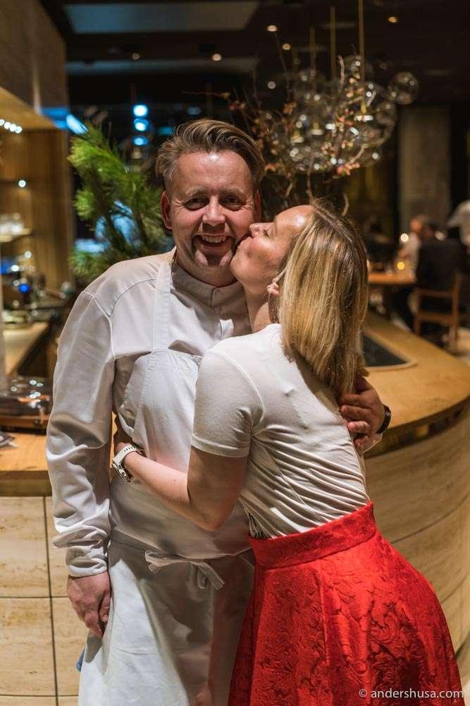 Sven Erik and Torill Renaa.