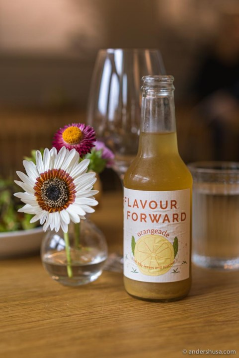 Flavour Forward – These soft drinks are made in-house.