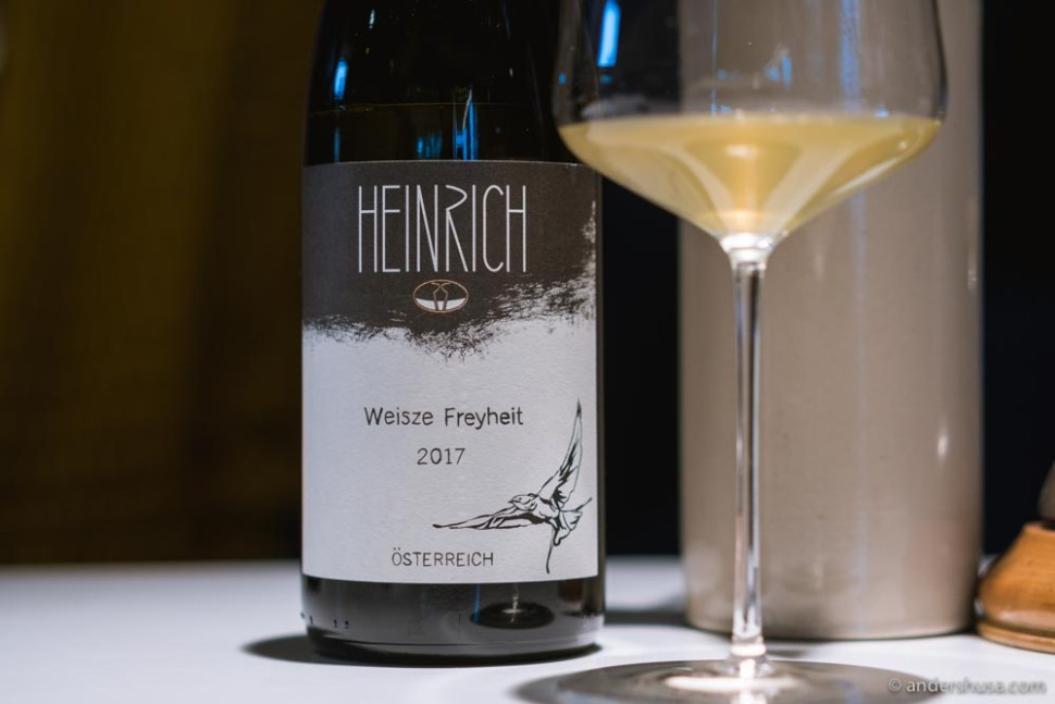 """Freyheit means """"freedom"""" in German –all of the wines in this series are completely free of sulfites and filtration."""