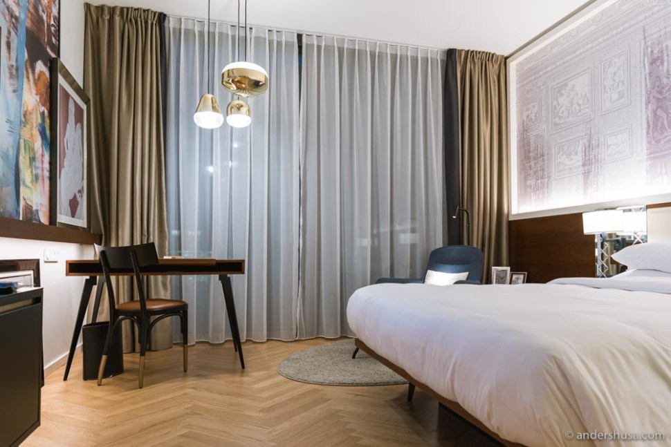The Andaz Vienna Am Belvedere has a modern, luxurious design while still feeling warm and welcoming.