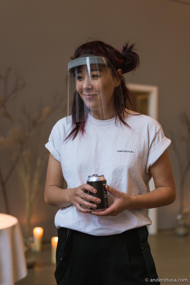Kate Kumada from Empirical presents the cocktail pairing.