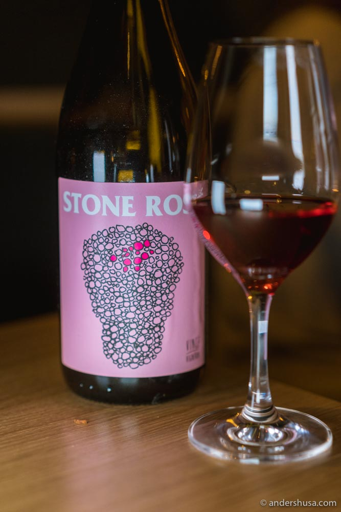 No Control – Stone Rosé 2018, at Skaal Matbar in Oslo.