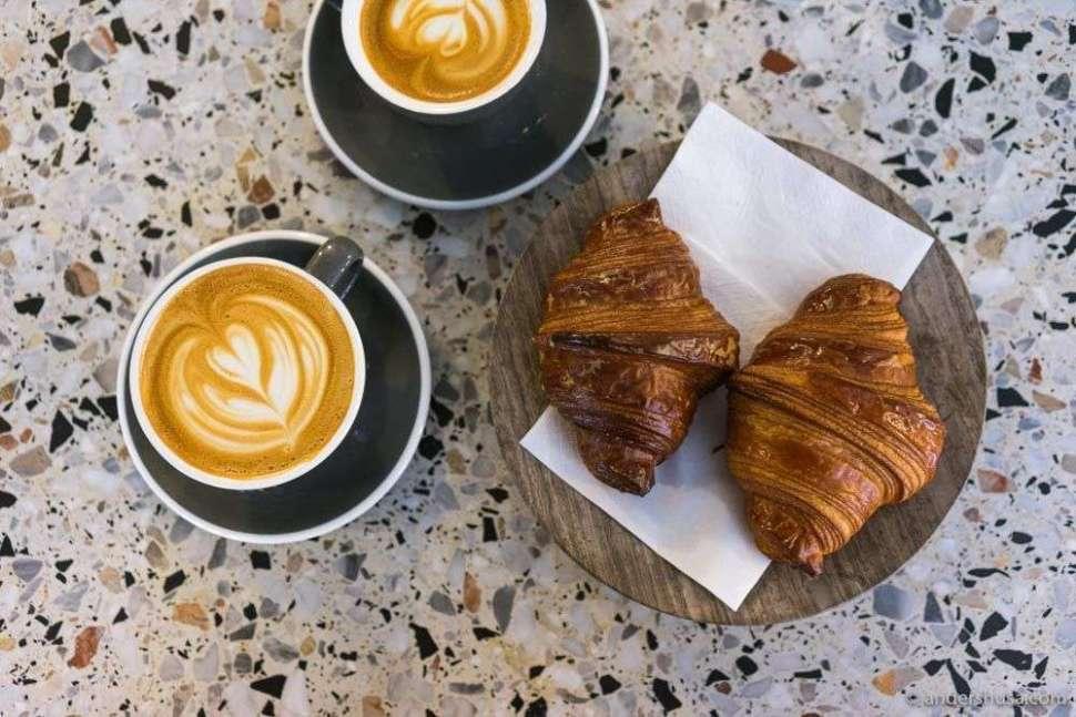 Andersen & Maillard roasts their own coffee in Nørrebro.