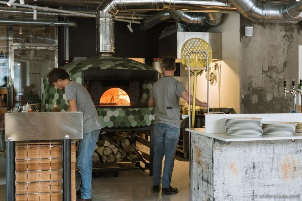 Peppe Oliva helped start Bæst before opening his own pizza restaurant.