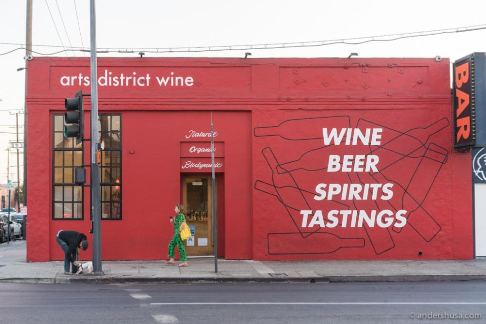 Natural, organic, and biodynamic wines for sale at Arts District Wine.