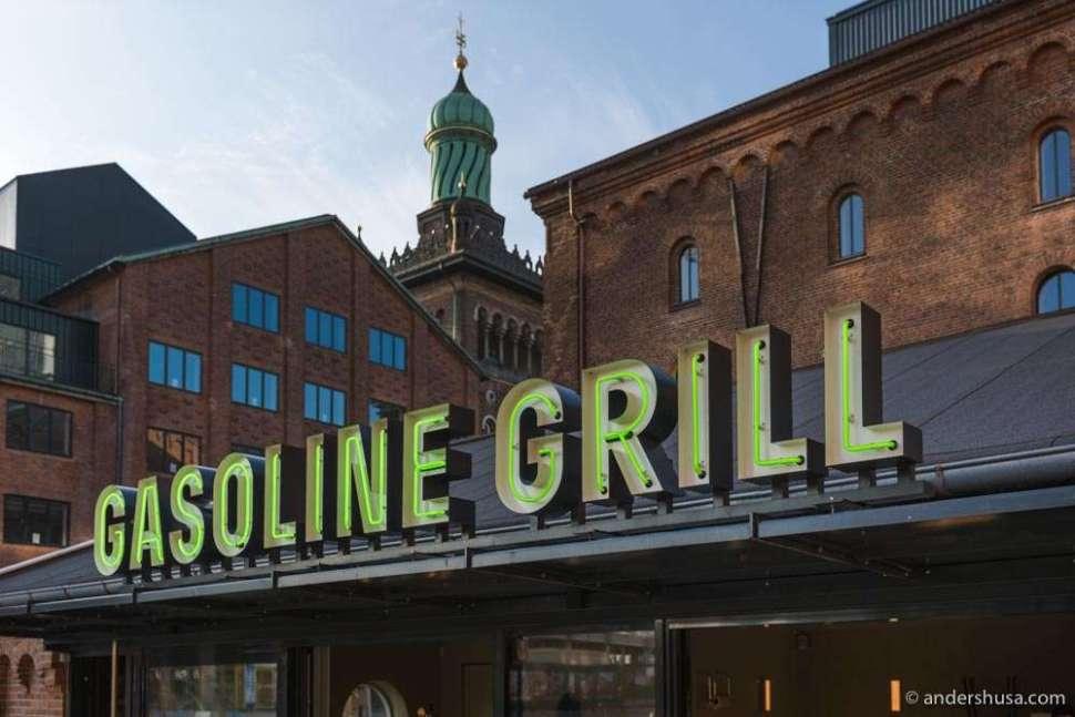 Gasoline Grill's biggest venue is located in Carlsberg Byen.