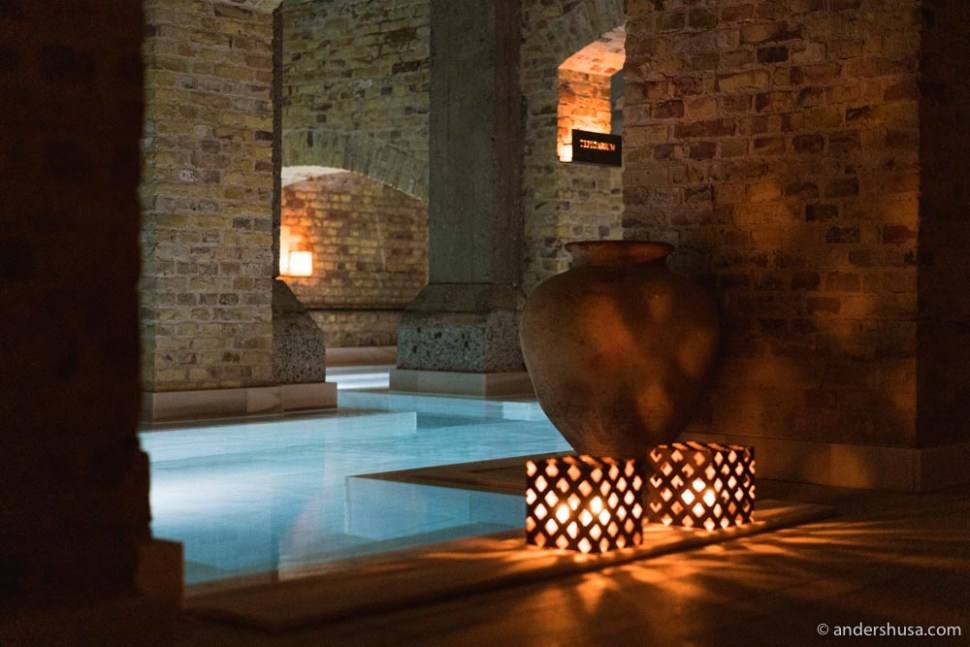 AIRE Ancient Baths is a relaxing oasis underneath Carlsberg Byen.
