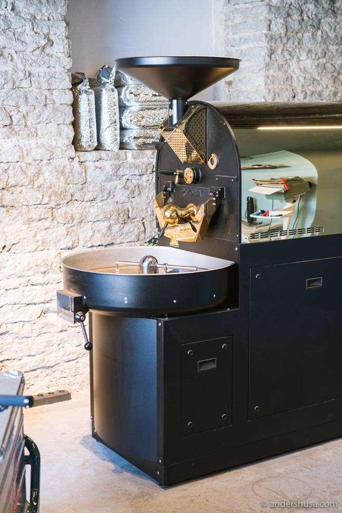 Paper Mill's beautiful roaster.