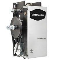 silver liftmaster commercial garage door opener