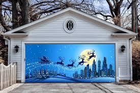 garage door holiday decorating ideas