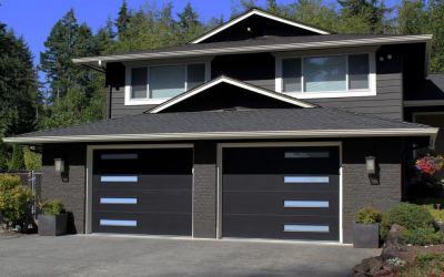 New Modern Tech Garage Doors