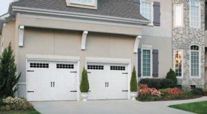spring clean your garage door