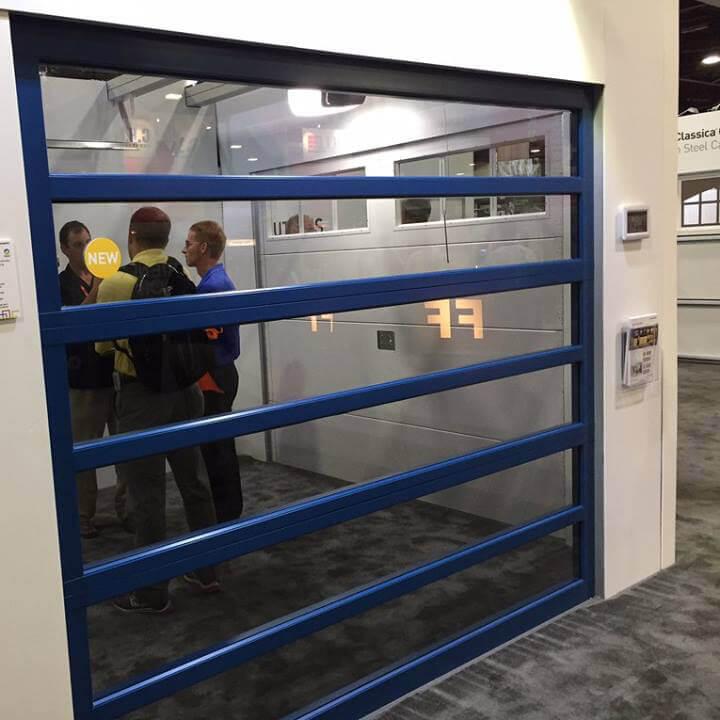 Commercial garage door installation in Logan, UT