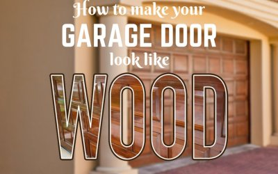 How to Make Your Garage Door Look Like Wood