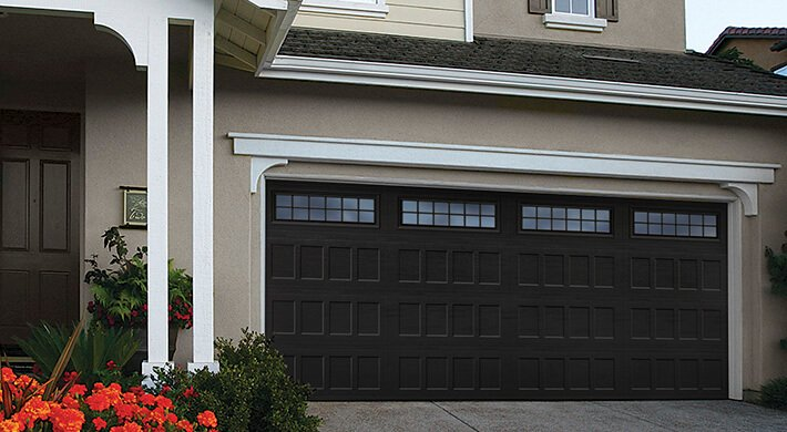 Designer's Choice residential garage door installation in Cache Valley