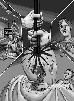 Tanis-stabbing-guy-comic