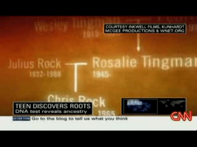 Chris's Rock Ancestry