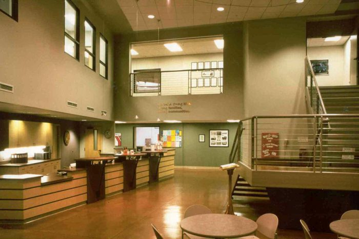 YMCA Lobby